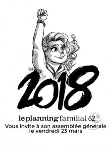 Assemblée générale @ Planning Familial 62
